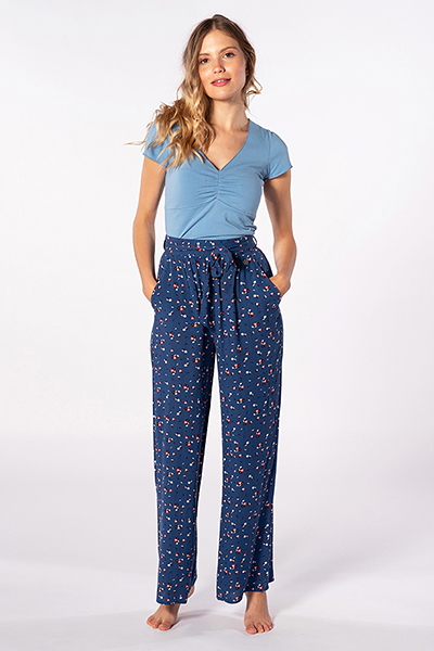 Штаны широкие женские Rip Curl Ж Beach Nomadic Pant 200 Pacific Blue