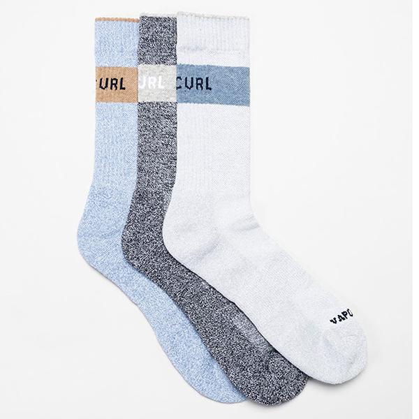 Носки Rip Curl Ultimate Crew Sock 3-pack Multi