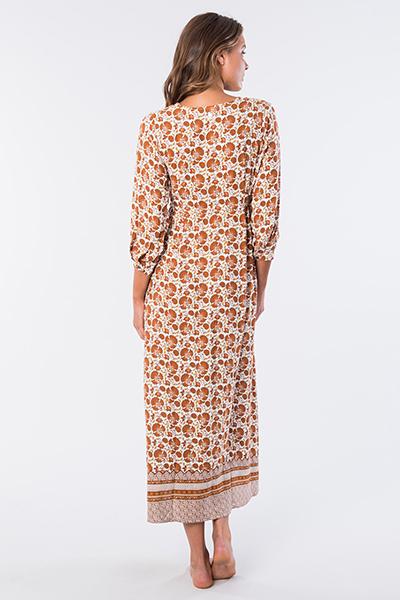 Платье женское RIPCURL Spice Temple Maxi Dress Orange