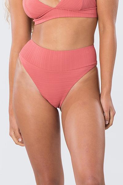 Плавки женские RIPCURL Premium Surf Hi Hot Coral