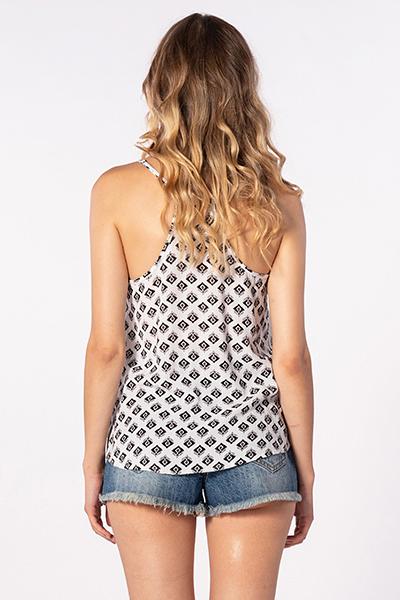 Топ женский RIPCURL Odesha Geo Shirt White
