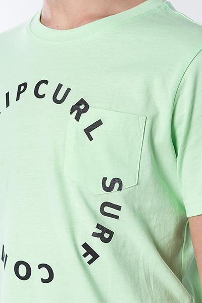 Футболка детская RIPCURL Woop Loop Boy Tee Light Green