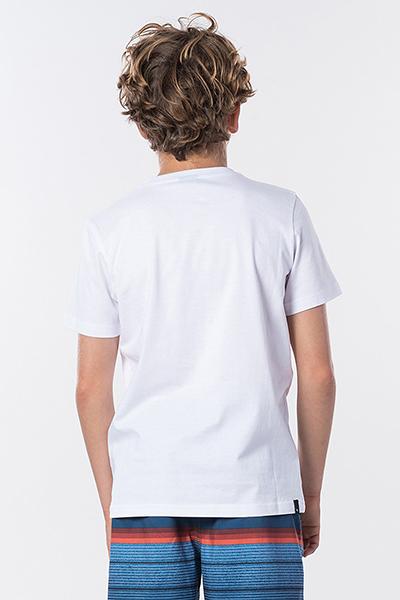 Футболка детская RIPCURL Corpo Tee Boy Optical White