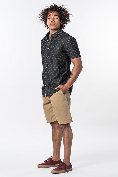 Рубашка RIPCURL Rhombees Shirt Black