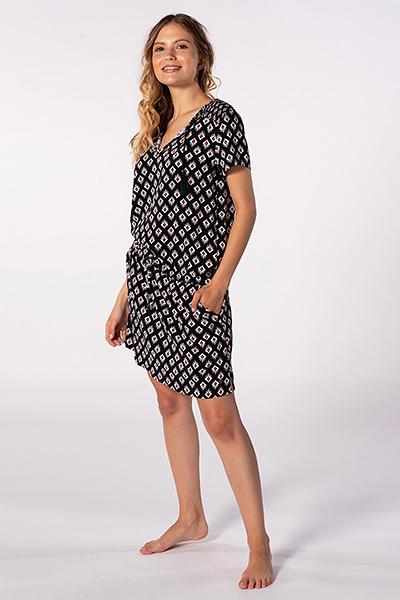 Платье женское RIPCURL Odesha Geo Dress Black