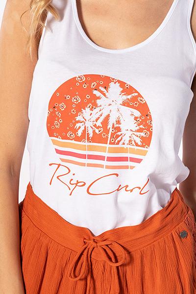 Топ женский RIPCURL Beach Vibes Singlet White
