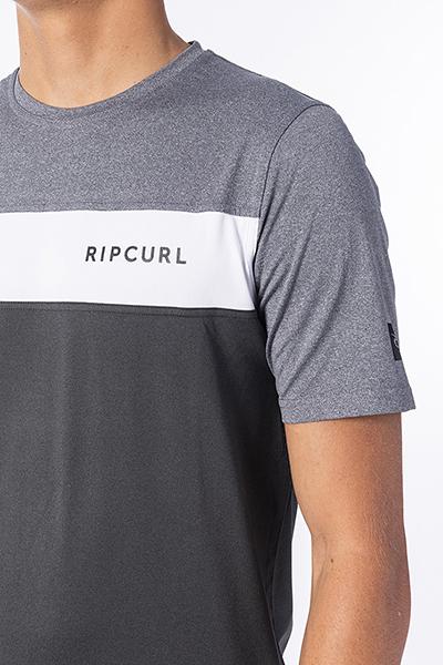 Гидрофутболка детская RIPCURL Underline Panel Charcoal Grey