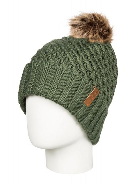 Женская шапка с помпоном Blizzard
