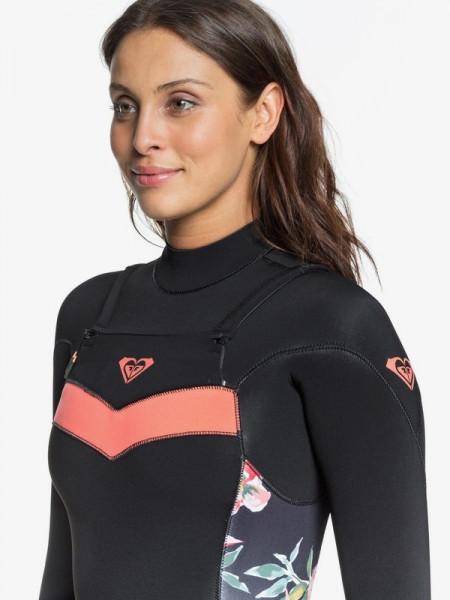 Женский гидрокостюм с длинным рукавом и молнией на спине 3/2mm Syncro