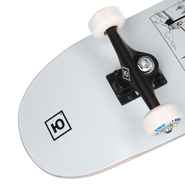 Скейтборд в сборе  Comics part.2 8,25x31,875 Medium, Колёса 53mm/100a Подвески 139, Подшипники ABEC 7