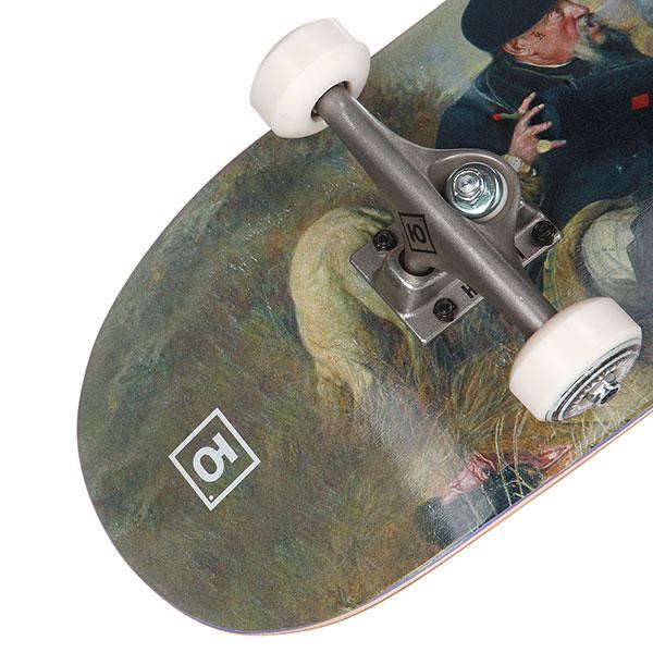 Скейтборд в сборе Юнион Gentlemens 8,25x31,875,Medium Колёса 53mm/100a Подвески 139 Подшипники ABEC 7