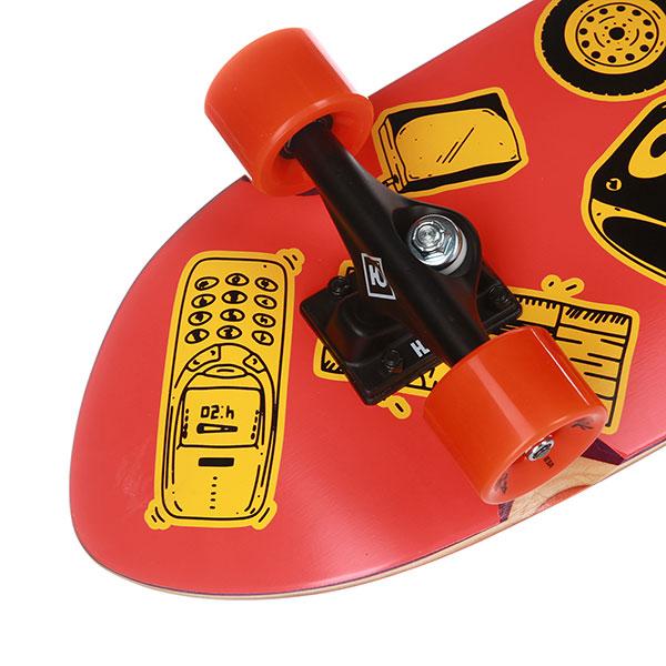 Скейтборд в сборе Юнион Partak 8,5x32,5, Колёса 59x43mm/83a Подвески 5,25, Подшипники ABEC 7