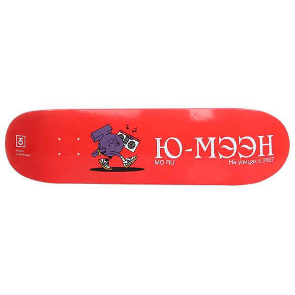 Дека для скейтборда Юнион Ю-МЭЭН Red 32 x 8.25 (21 см)