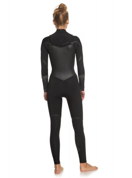 Женский гидрокостюм с длинным рукавом и молнией на груди 3/2mm Syncro Plus