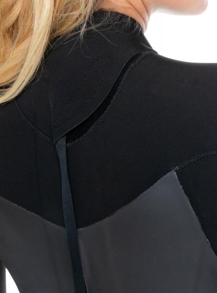 Женский гидрокостюм с длинным рукавом и молнией на спине 4/3mm Syncro