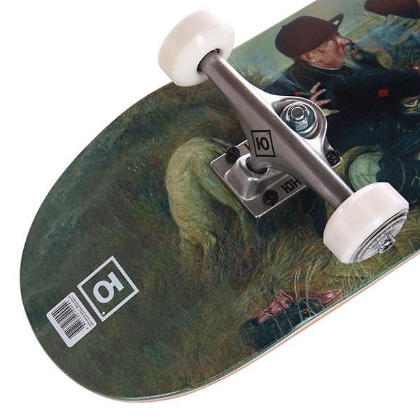 Скейтборд в сборе Юнион Gentelmens 8,25x31,875 Medium Колеса 53mm/100a