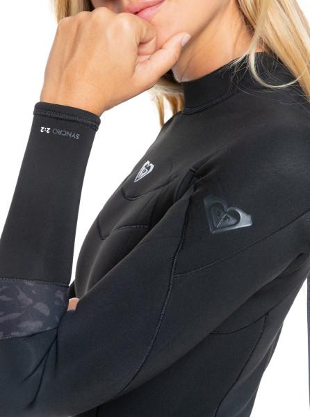 Женский гидрокостюм с длинным рукавом и молнией на спине 2/2mm Syncro