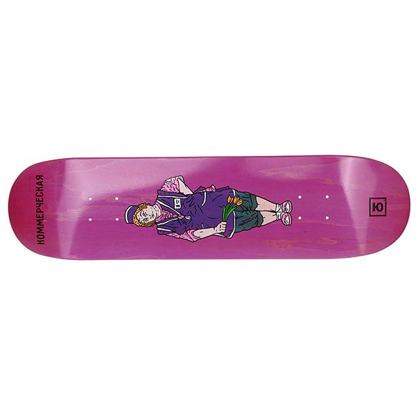 Дека для скейтборда Юнион Trade Pink размер 8.125x32, конкейв medium