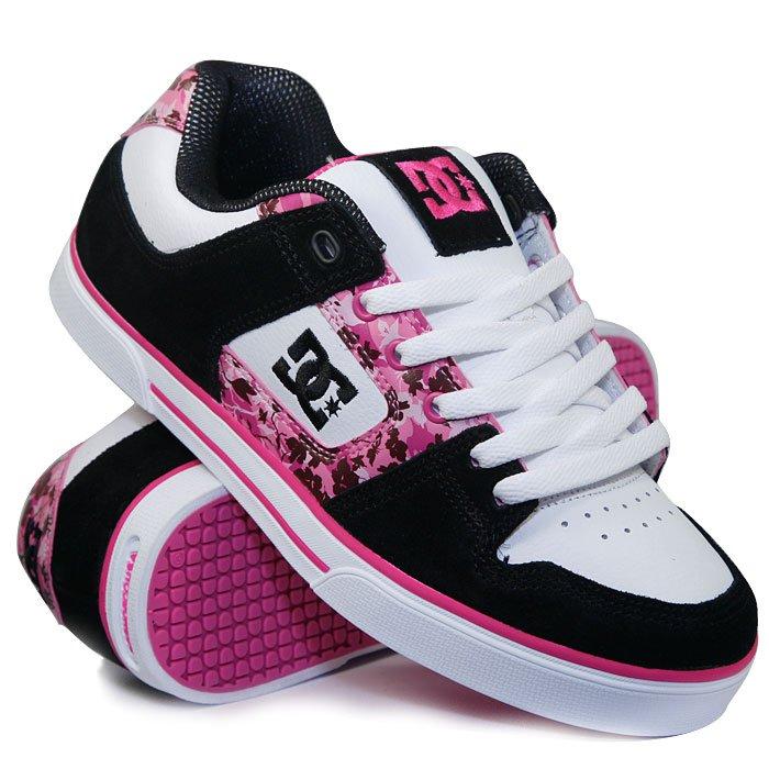 2a4bf6075 Купить обувь кеды кроссовки жен. DC WS Pure SE Black/C.Pink/White ...