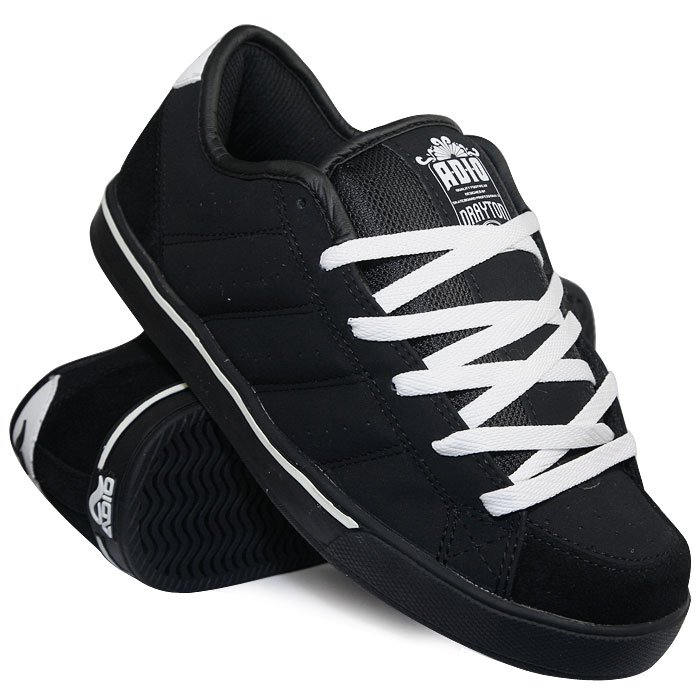 2ed932aa Купить обувь кеды кроссовки Adio Drayton Black/White (5419) в ...