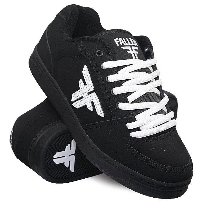 Купить обувь кеды кроссовки Fallen Patriot Black (5421) в интернет ... 11cdf776a92