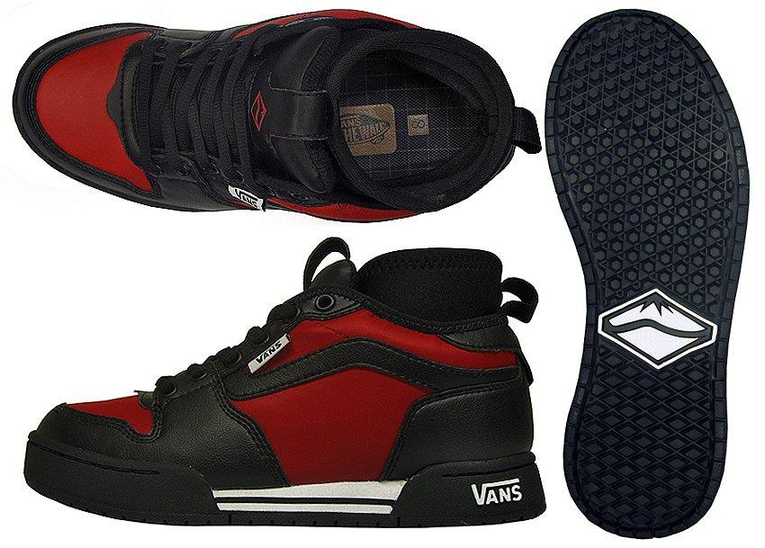 4fec5c9dbd73 Купить ботинки зимние Vans Motly Black Red (shoes-vans-mortly-blk ...