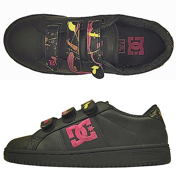 34e1baee6 Купить обувь кеды кроссовки жен. DC Striker Vel Black/Purple (6604 ...