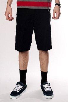 Классические мужские шорты Fallen Thomas Signature Cargo Short Black