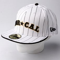 Бейсболка New Era Nor Cal Nautical NewEra White/Black Pinstripe