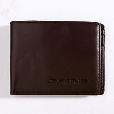 Кошелек Dakine Agent Leather Wallet Brown
