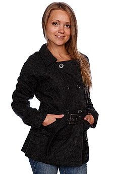 Куртка женская Zoo York Paddington Coat Charcoal Heather