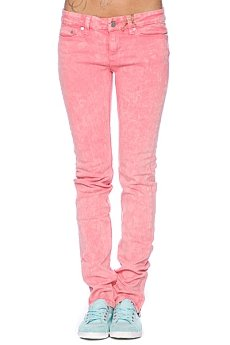 Джинсы узкие женские Insight Skinny Stretch Ankle Biter Pink Acid