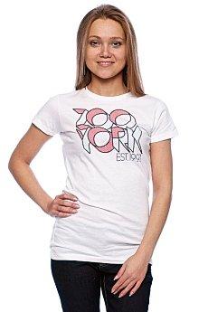 Футболка женская Zoo York Team Zoo White