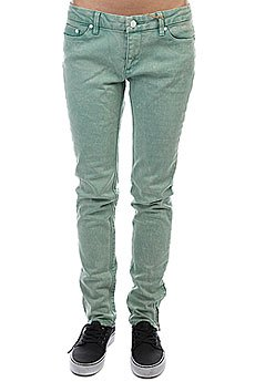 Джинсы узкие женские Insight Skinny Stretch Ankle Biter Emerald Wash