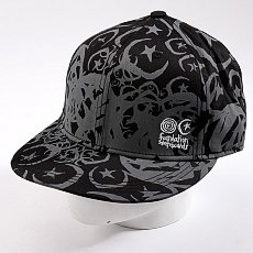 Бейсболка New Era Foundation Infest Fit NewEra Black/Grey