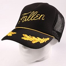 Бейсболка Fallen Fury Foam Mesh Hat Black/Yellow