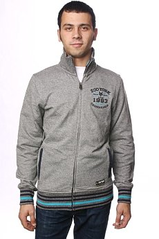 Толстовка Zoo York Aqueduct Jacket Grey Marled