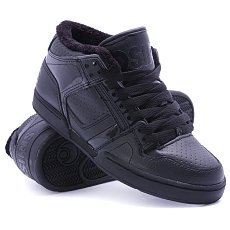 Кеды утепленные Osiris Nyc 83 Mid Shr Black/Shearling