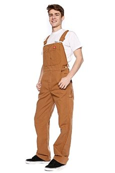 Комбинезон Dickies Duck Bib Overall Brown Duck