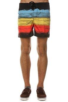 Пляжные мужские шорты Insight Retro Bro Bunker Black