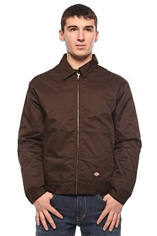Ветровка Dickies Lined Eisenhower Jacket Dark Brown