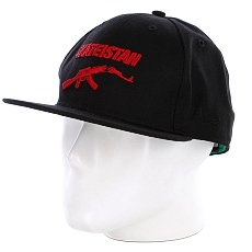 Бейсболка New Era Fallen Skateistan NewEra Black/Red