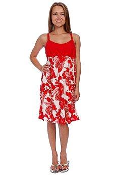 Платье женское Animal Lizzie Red