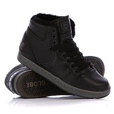 Кеды утепленные Globe Destroyer Mid Fur Black/Vintage Black