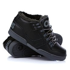 Кеды утепленные Osiris Nyc 83 Mid Shr Black/Charcoal/Charcoal