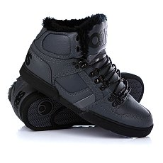 Кеды утепленные Osiris Nyc 83 Shr Charcoal/Black/Black