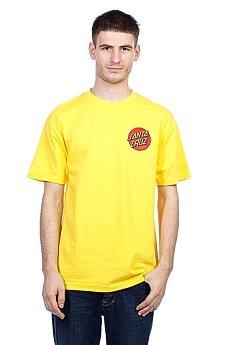 Футболка Santa Cruz Kendall Pure Style Yellow