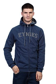 Толстовка Etnies Glasgow Repel Zip Fleece Navy/Heather