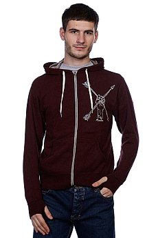 Толстовка Toy Machine Arrows Burgundy Heather