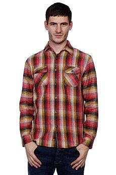 Рубашка в клетку Huf Chopper Flannel Red